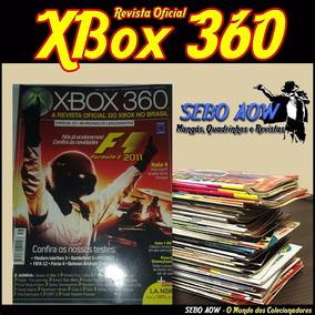 Lote Com 2 Revistas - Xbox360 Revista Oficial Do Xbox Brasil 5f0f9c70f7bc3