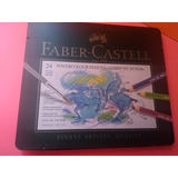 Colores Faber Castell Acuarelables Profesionales X 24