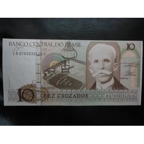 Nota Cédula 10 Dez Cruzados 1986 Fe Rui Barbosa C 180* A0700