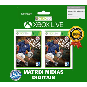 Fifa Street Xbox 360 Original ( Mídia Digital ) Acesso Fácil