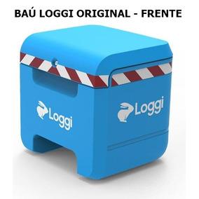 Baú + Bolsa Térmica Loggi Original Não Vendo Itens Separafos