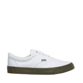 Tenis Urban Shoes Blancos Con Verde - Ropa 015416529e07f