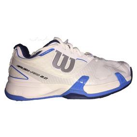 Tenis Wilson Wr5313010 - Blancos Con Azul