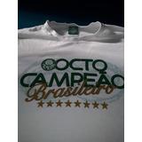 Camisa Palmeiras Comemorativa Octo Campeão Brasileito Tam.p