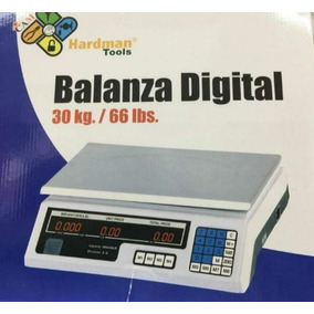Balanza Digital De Mesa, Bascula, Peso Hasta 30kg O 50lbs