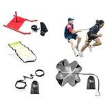 Crossfit Training Bundle Kit Escalera, Trineo, Paracaídas,