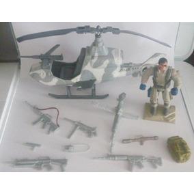 Bonecos Sos Comandos Helicópteros Acessórios Soldier Force