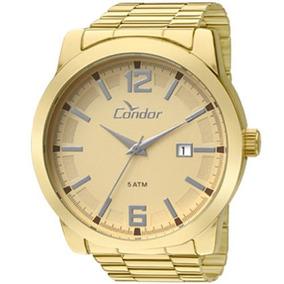 Relógio Condor Casualunissex Aço Dourado Co2115ux/4d