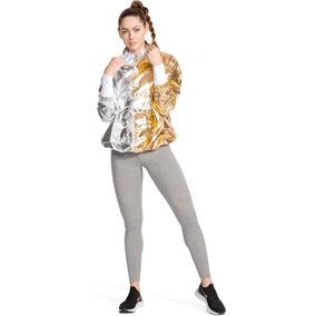 Chamarra Nike Metalizada Loose Fit Dama Med Correr Aj0104