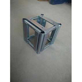 Cubo 5 Faces Treliças Box Truss Q20 Aço - Lourenço