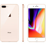 iPhone 8 Plus Gold 64 Gb Lacrado- Original- Nf