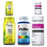 Kit Remédios Fitoterápicos Com 5 Itens