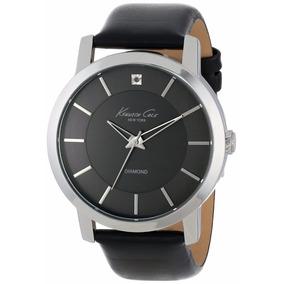Reloj Kenneth Cole New York Diamond Piel Hombre Kc1986