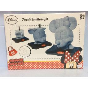 Minnie Mouse Puzzle Escultura 3d Grow Ref 03396