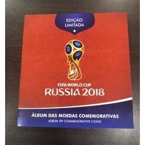 Álbum Completo Das Moedas Copa Da Rússia 2018
