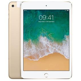 Ipad Mini 4 Apple, Tela Retina, 128gb, Wi-fi + Cellular