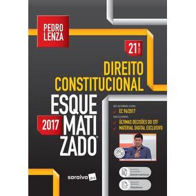 Livro Direito Constitucional Esquematizado 21ª Ed 2017