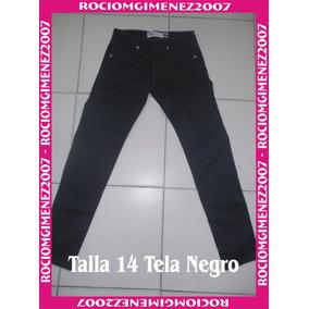 Pantalon Negro Para Niñas - Ropa 14f9defc4e54