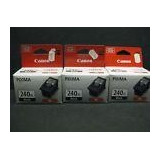 Canon Pixma 240 Xl Black Ink Tank New Old Stock 3 Inks Canon