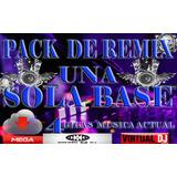 Pack De Musica Remix Misma Base4 Mismo Bpm 22 Gigas