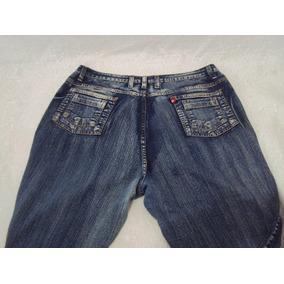 Bermuda Feminino Cambos Jeans Tamanho 52