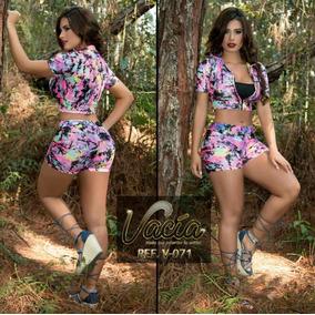 Conjunto Short Y Blusa Corto Para Mujer Nuevo Promocion