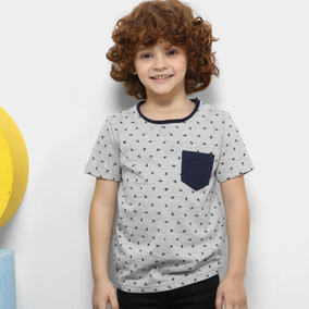 c4abd61e1045e Camiseta Infantil Tigor T. Tigre Estampada Masculina