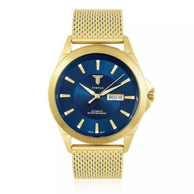 ddc4ba0c6e1 Relógio Masculino Aço inoxidável em Goiás no Mercado Livre Brasil