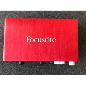 Focusrite Scarlett 2i2 2nd Geração - Interface De Áudio