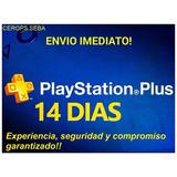 Playstation Plus 14 Días