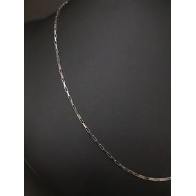 Corrente Cartier Ouro Branco 60 Cm Masculina (promoção!)