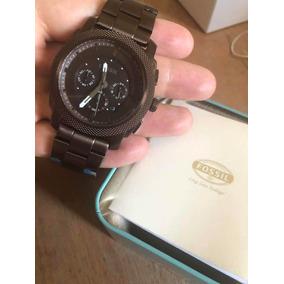 8f903e6b10b6d Relógio Fossil Masculino Modelo Fs 4598 Vermelho - Relógios De Pulso ...