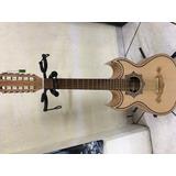 Guitarra Bajo Sexto De Palo Escrito Electroacústico Envió Gr
