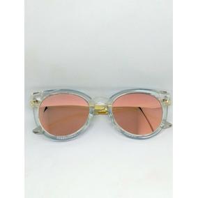 91e558fd8e463 Oculo Gatinho Espelhado Rose - Óculos no Mercado Livre Brasil