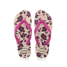 Ojotas Havaianas Color Floral Fc Mujer Be/ng