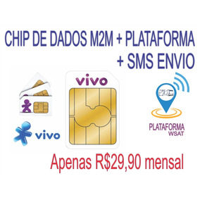 Chip Vivo M2m Ilimitado + Sms Envio + Plataforma