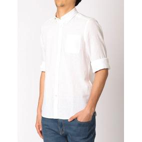 Camisa De Lino Harrington Label - 011665