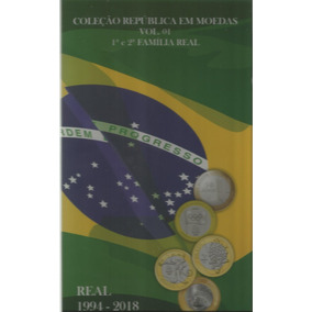 Rco Album Da Rep. Vol.1 1ª E 2ª Família Real 1994 A 2018