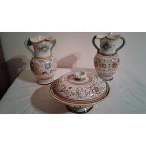 Ceramica Italiana Augusta Deruta Con Firma