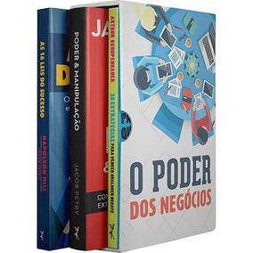Box O Poder Dos Negócios Box # 3 Livros