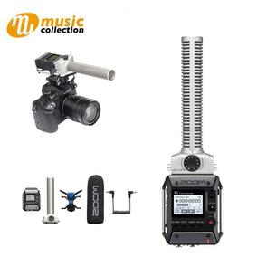 Gravador Zoom F1-sp Field Com Microfone Shotgun Mic Zoom F1