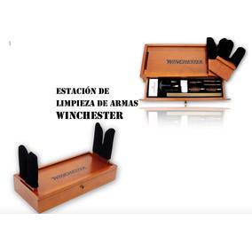 0a63089a619f9 Winchester Estación De Limpieza De Armas Madera Xtm P