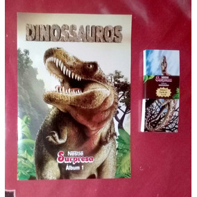Álbum Vol. 1 Dinossauros - Nestle Surpresa - Novo