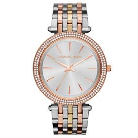 bc54b4a56ea Relógio Michael Kors Fem. Mk 3203 - Relógios De Pulso no Mercado ...