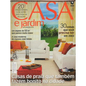 Revista Casa E Jardim - Nº 576 - Jan/2003