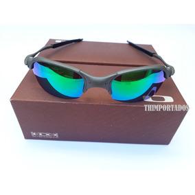 81d6535af08b2 Romeo 2 Verde De Sol Oakley Juliet - Óculos no Mercado Livre Brasil