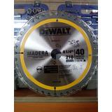 Disco De Sierra Circular 8 1/4 40d Madera Dewalt Dw03110
