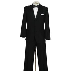 Remate Smoking Tuxedo Negro Talla 36r Marca Studio Valenti