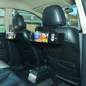 Porta Bala Kit Acrilico Preto + Lixeira Para Carro Taxi Uber