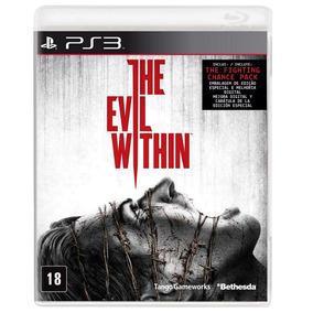 The Evil Within Ps3 Jogo Original Completo Mídia Física
